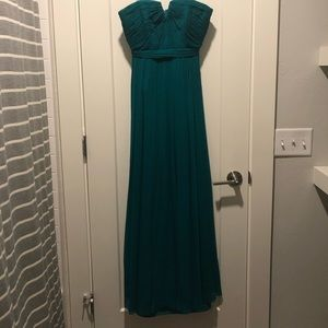 J. Crew Strapless Gown, size 2